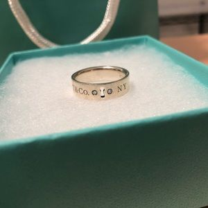 Tiffany & Co. Lock Ring (diamonds)